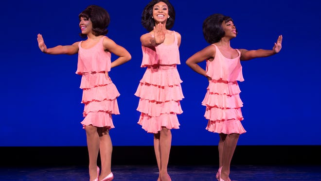 """The Supremes and other iconic Motown acts like the Temptations and the Jackson 5 live again in """"Motown: The Musical."""""""