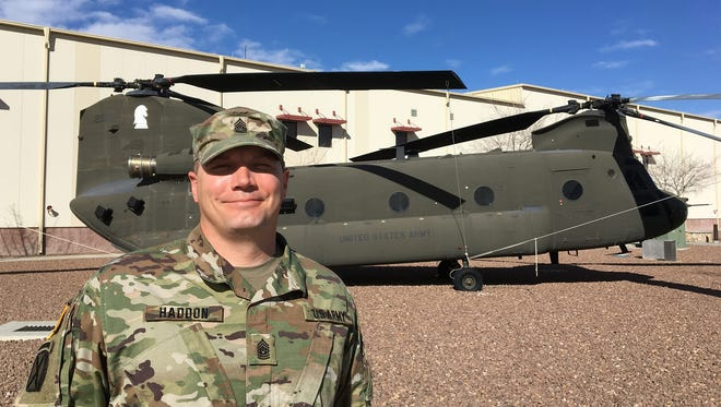 Command Sgt. Maj. Will Haddon is the new senior enlisted leader for the 2nd Battalion, 501st Aviation Regiment.