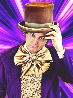 """Jamey Green as Willy Wonka in """"Willy Wonka & The Chocolate Factory."""""""