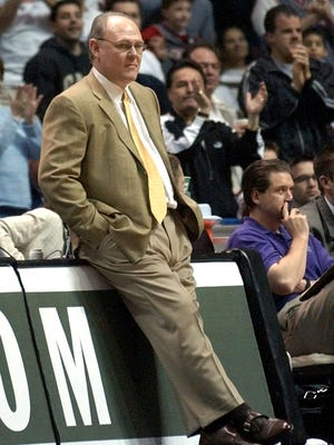 """Former NBA coach George Karl says current Knicks star Carmelo Anthony """"really lit my fuse with his low demand of himself on defense. He had no commitment to the hard, dirty work of stopping the other guy"""" in a new book to be released in January, 2017."""