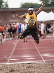 Northmor's Meechie Johnson competed in the Division