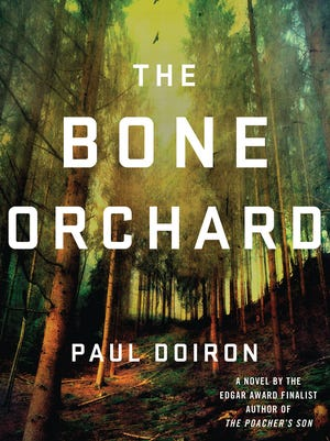 """""""The Bone Orchard"""" by Paul Doiron, book cover."""