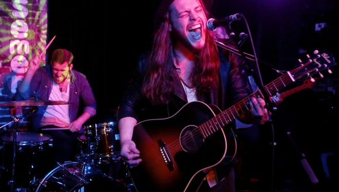 Goodbye June performs at The Basement Monday May 16, 2016 at a showcase for artists recently signed to Interscope Nashville.