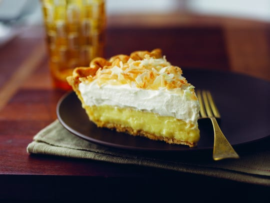 Triple-Threat Coconut Cream Pie is a vintage recipe