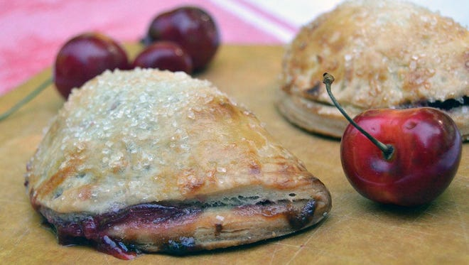 Use your favorite pie dough recipe or purchase pie dough already made in the refrigerator section of your grocery store to make these hand-held pies.