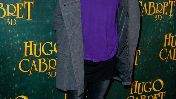 Aida Touihri attends the 'Hugo Cabret 3D' premiere