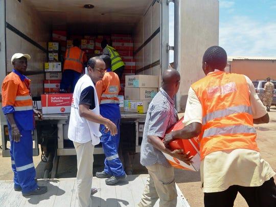Effort to fight Ebola