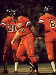 Baltimore Orioles celebrated their 1970 World Series