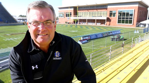 Dana Dykhouse is the namesake of the Dykhouse Student Athletic Center at and Coughlin Alumni Stadium in Brookings.
