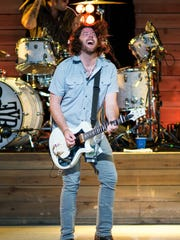 James Young of the Eli Young Band.