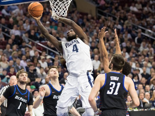 NCAA Basketball: DePaul at Villanova
