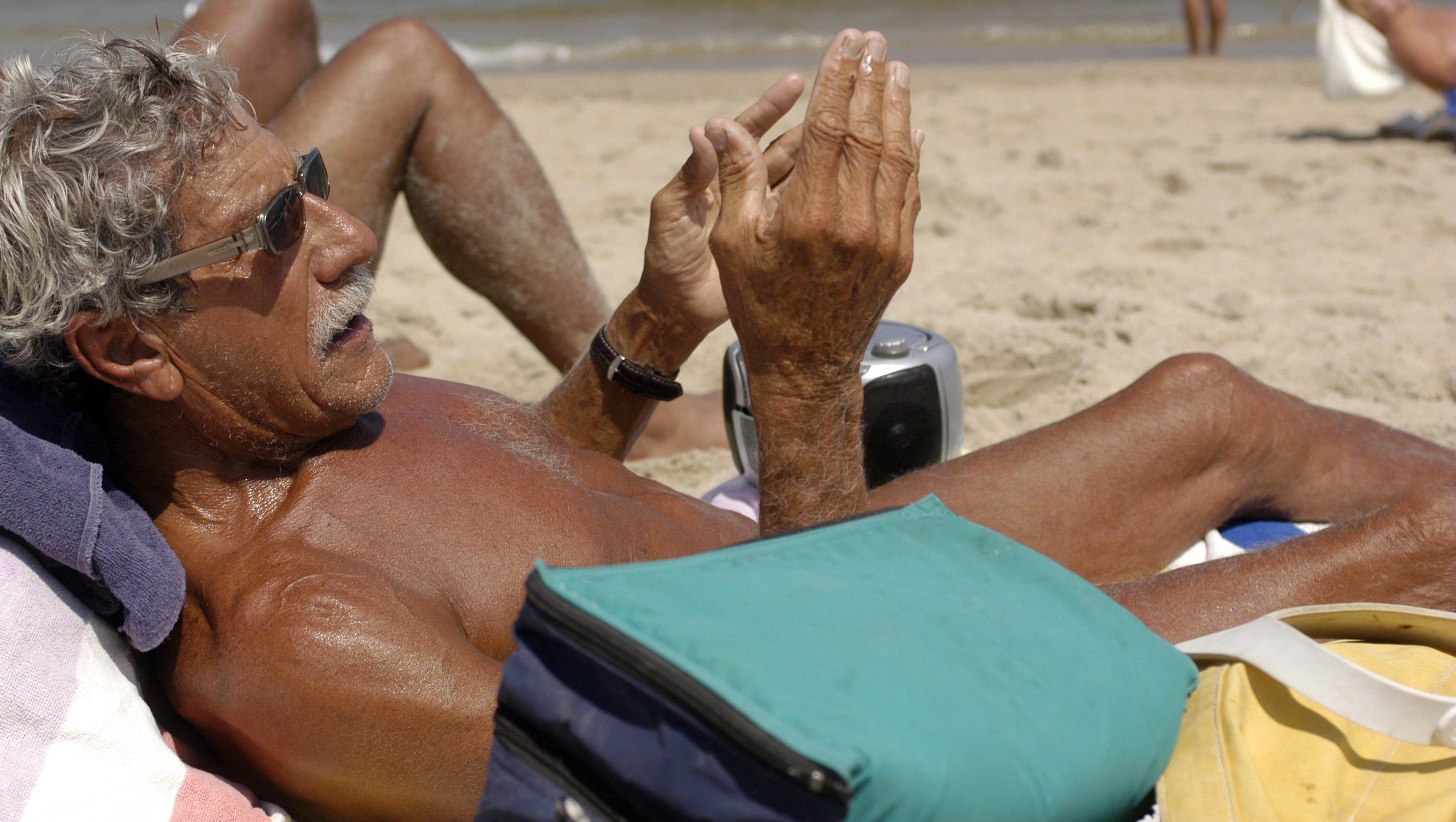 On the beach nude Real Nudist