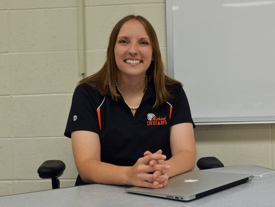 Mishicot High School agriculture teacher Jamie Propson