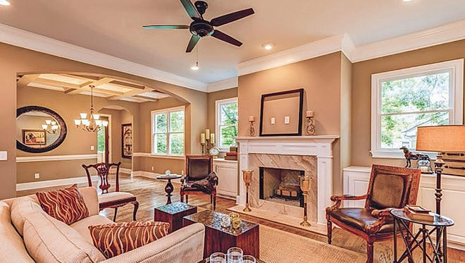 Efficient floor plans and architecturally pleasing exteriors make a Parkside home Middle Tennessee's best home value.