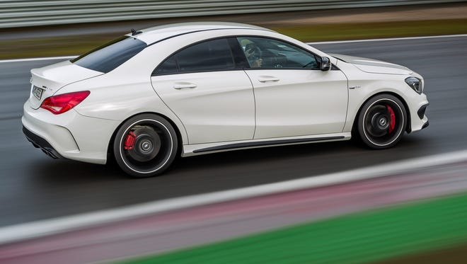 "Mercedes Benz's CLA was one of the vehicles listed as unreliable by ""Consumer Reports."""