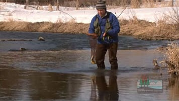 The early trout season open in Wisconsin March 7.