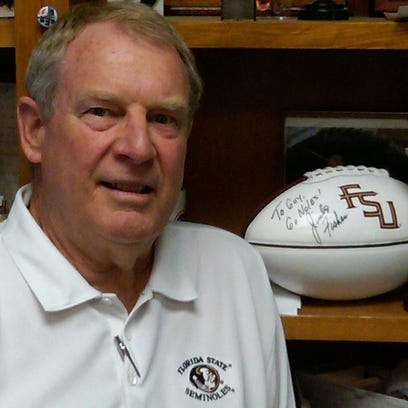 Guy Moore, owner of Garnet & Gold stores in Tallahassee,