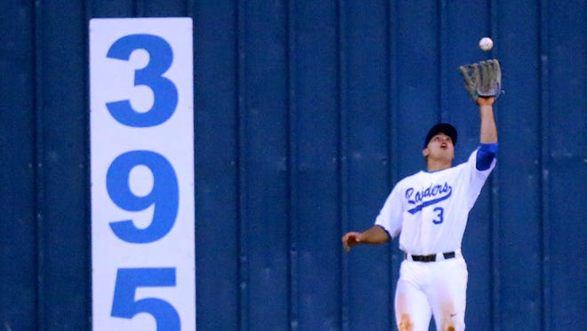MTSU's Brad Jarreau (3) is second on the team in hits this year.