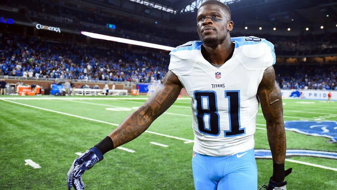 Andre Johnson had 70 receiving touchdowns in his career.