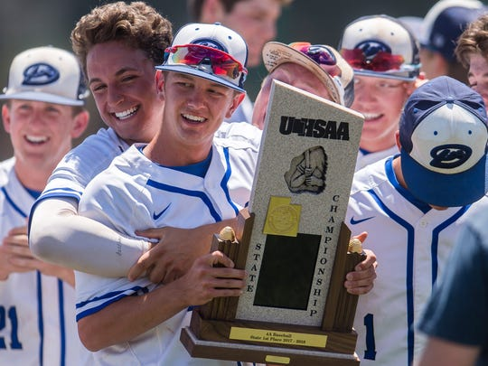 Dixie High School wins the Class 4A baseball state