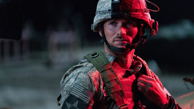"""Scott Eastwood in a scene from """"The Outpost."""" The film tells the story of the heroic Battle of Kamdesh in Afghanistan in 2009, where the Taliban attacked a remote American Combat Outpost that was nearly impossible to defend."""