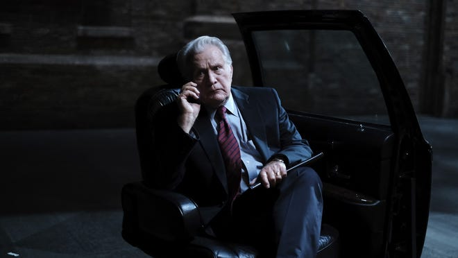 """Martin Sheen in a scene from """"A West Wing Special to Benefit When We All Vote,"""" a stage presentation of the """"Hartsfield Landing"""" episode from the third season of """"The West Wing"""" TV series, debuting Thursday on HBO Max."""