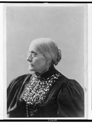 Susan B. Anthony in old age