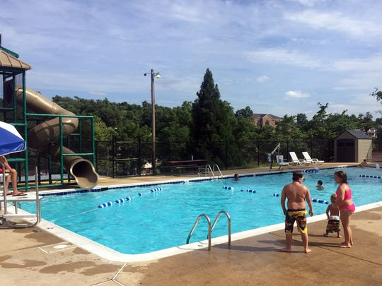 Montgomery Hall Park pool has re-opened this summer after being remade following years of closure.