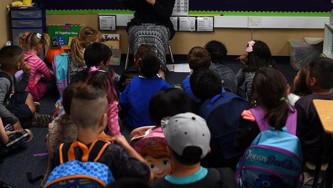 A Washoe County School District classroom