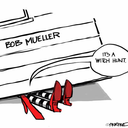 It's a witch hunt.