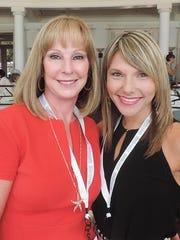 7. Elaine Hawkins and Melissa Cofta
