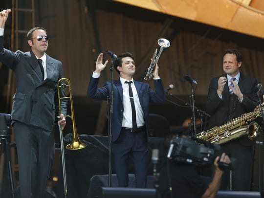 St. Paul & the Broken Bones will be at the East Avenue and Chestnut Street Stage on opening night of the jazz festival.