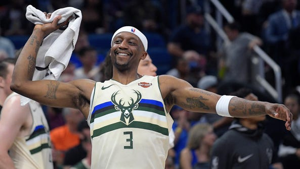 At 40 years old, Bucks guard Jason Terry helps the