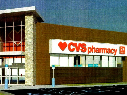A rendering of the CVS pharmacy proposed near the new Publix on the corner of Immokalee Road and Randall Boulevard in Golden Gate Estates.