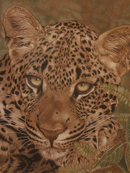 Leslie Delgyer - Leopard
