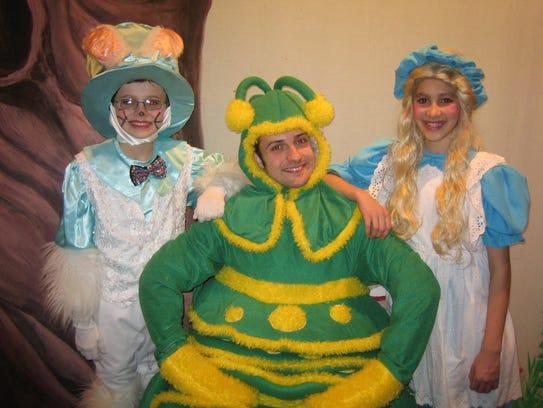 "The Maquis Theatre presents ""Alice in Wonderland."""