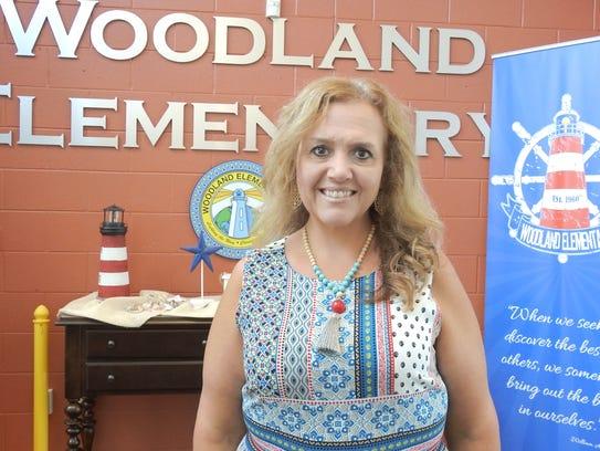 Katrina Miller, principal of Woodland Elementary School