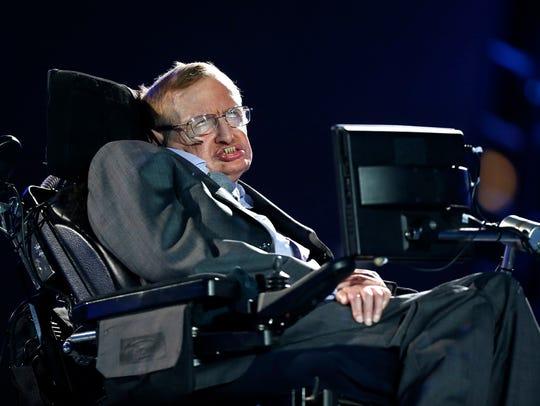British physicist Stephen Hawking was interviewed on