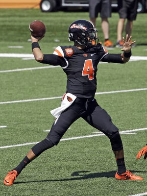 Seth Collins was a late addition to the Oregon State family but might be the Beavers' starting quarterback in September.