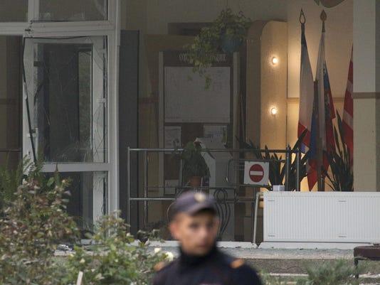 Crimea Gaz Explosion