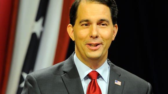Wisconsin Gov. Scott Walker (Benny Sieu, AP)