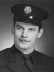 Barney Momcilovic's Detroit Fire Department graduation