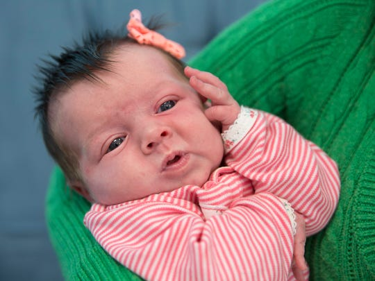 Myrissa Clem is the one-month-old daughter of Shae Clem.