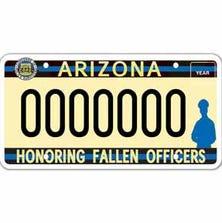 NO. 10: Fallen Police Officer. No. of plates: 11,774. Total revenue: $200,158.