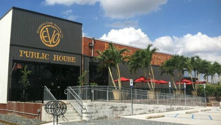 Evolution Craft Brewing Co. and Public House is location