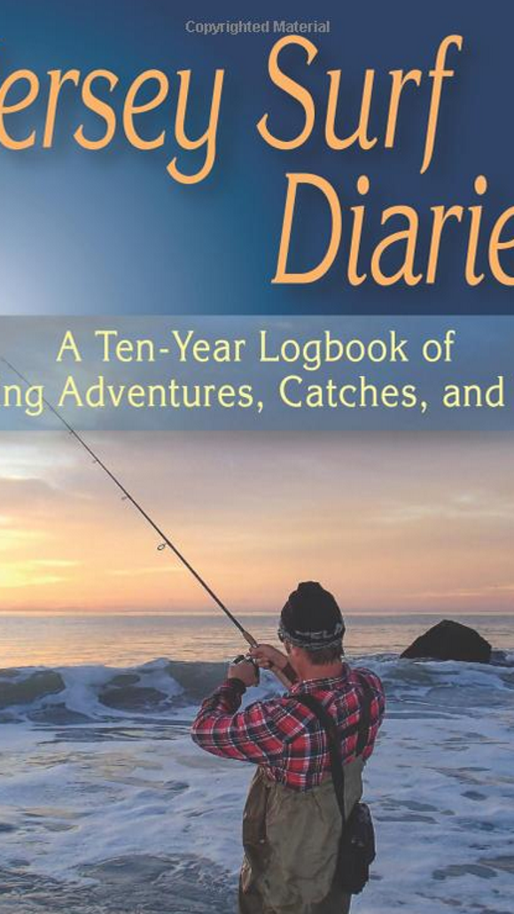 Jersey Surf Diaries, A ten-year logbook of fishing adventures, catches, and tips.