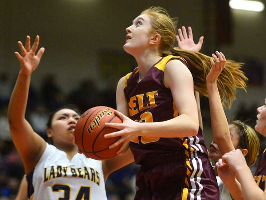 Former Belt standout Kassie Hoyer has signed with the NCAA Div. II Black Hills State women's basketball program.