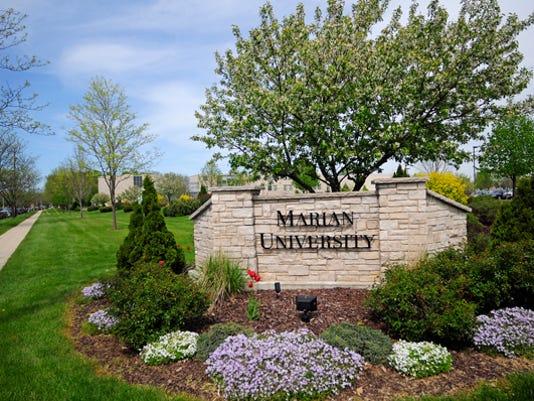 Marian University sign.jpg