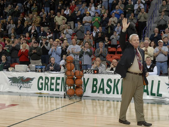 Former UWGB coach Dick Bennett led the Phoenix to its