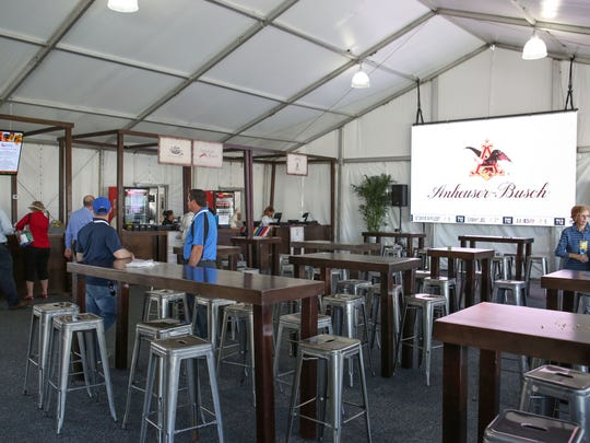 The Vons Pavilion at PGA West in La Quinta during the Careerbuilder Challenge, January 17, 2018